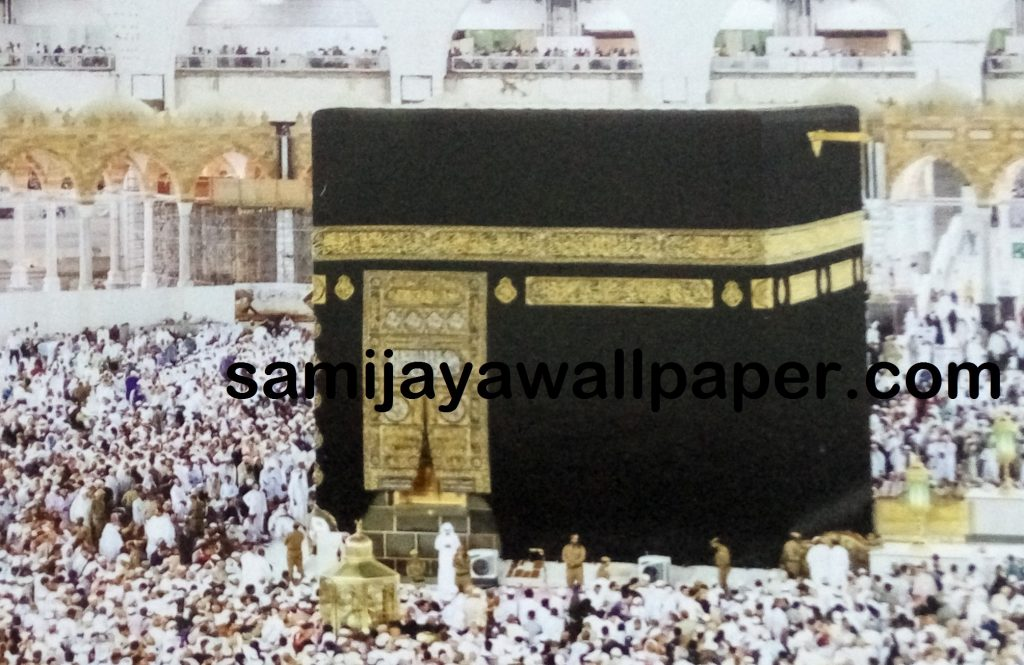 wallpaper murall ka'bah